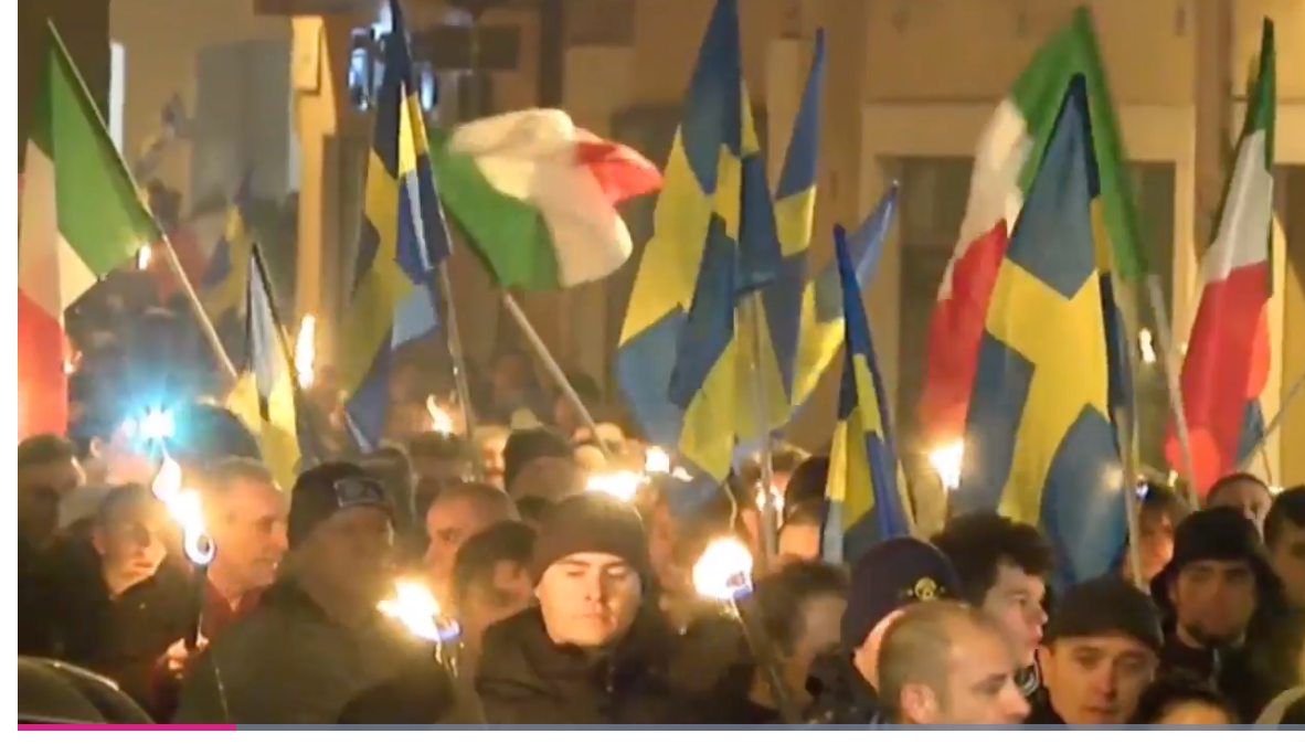 Veronan lippu on samankaltainen Ruotsin lipun kanssa