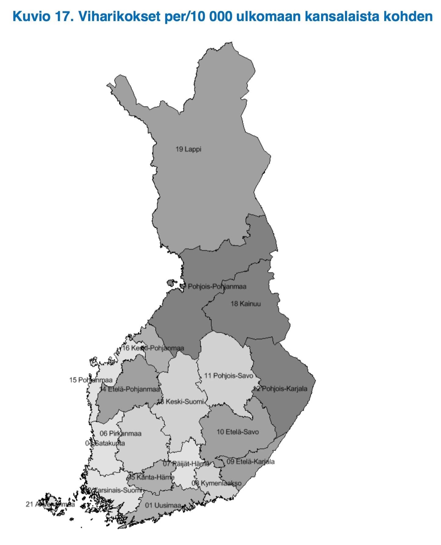viharikos suomi
